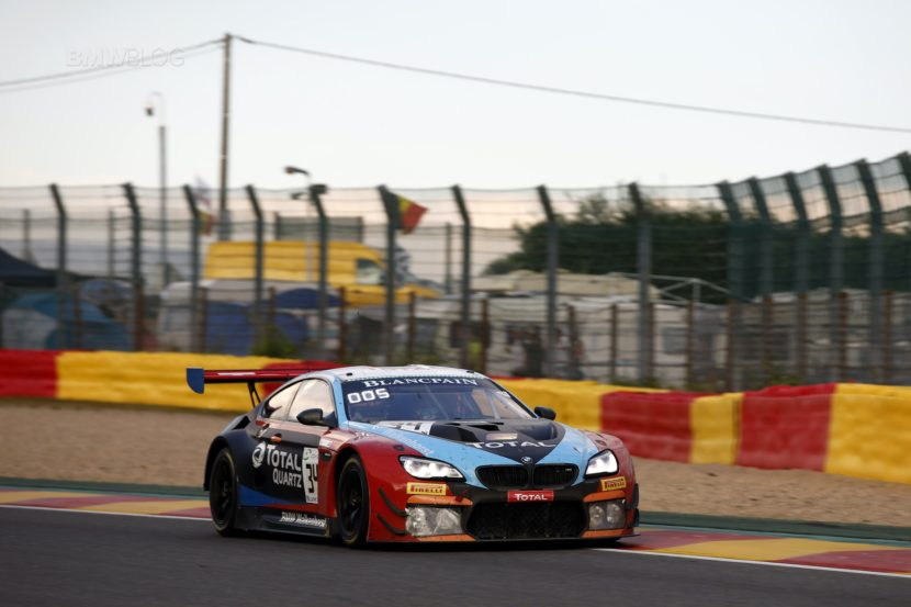 BMW 24 hrs Spa M6 GT31 830x553