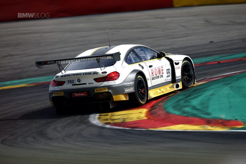 BMW 24 hrs Spa M6 GT34 830x553