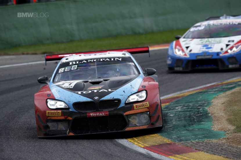 BMW 24 hrs Spa M6 GT36 830x553