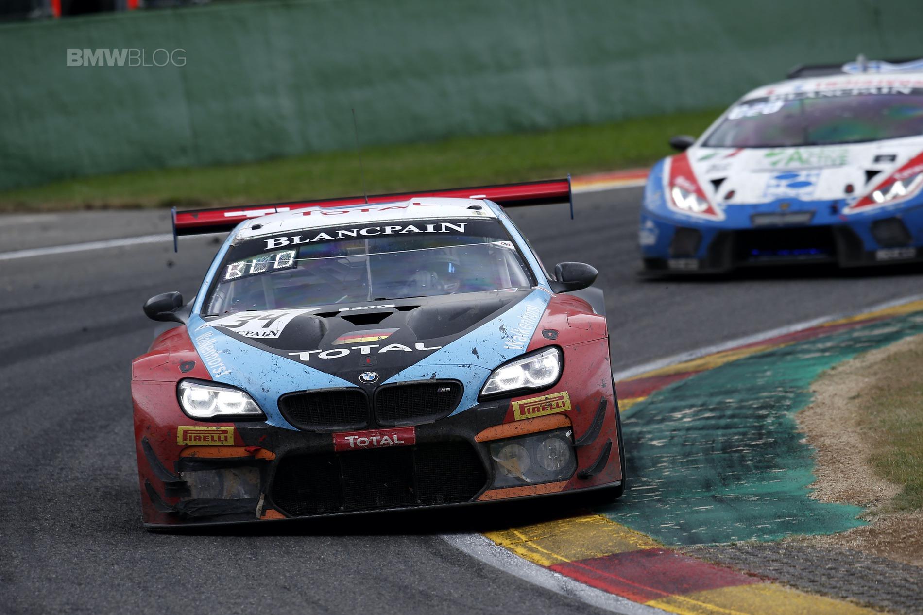 BMW 24 hrs Spa M6 GT36