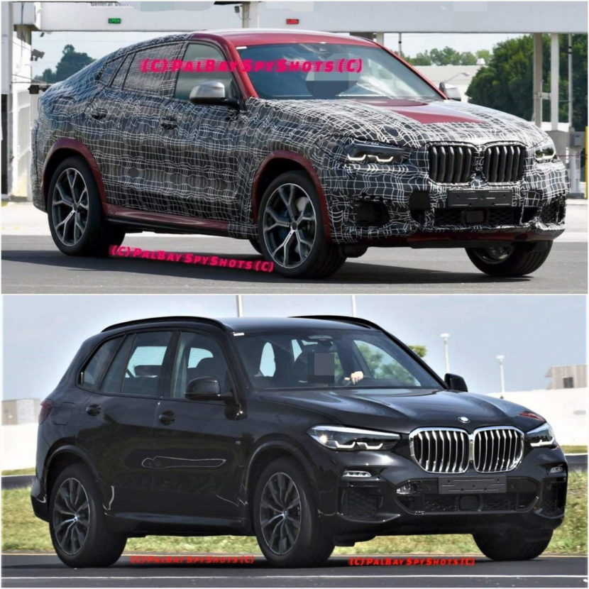 More Spy Photos Of The New BMW G06 X6