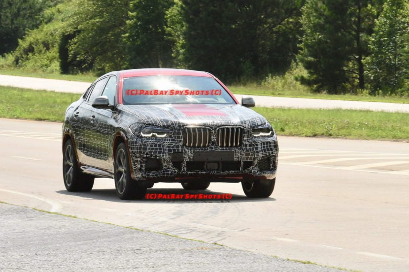 BMW G06 X6 spy shots 06 830x553