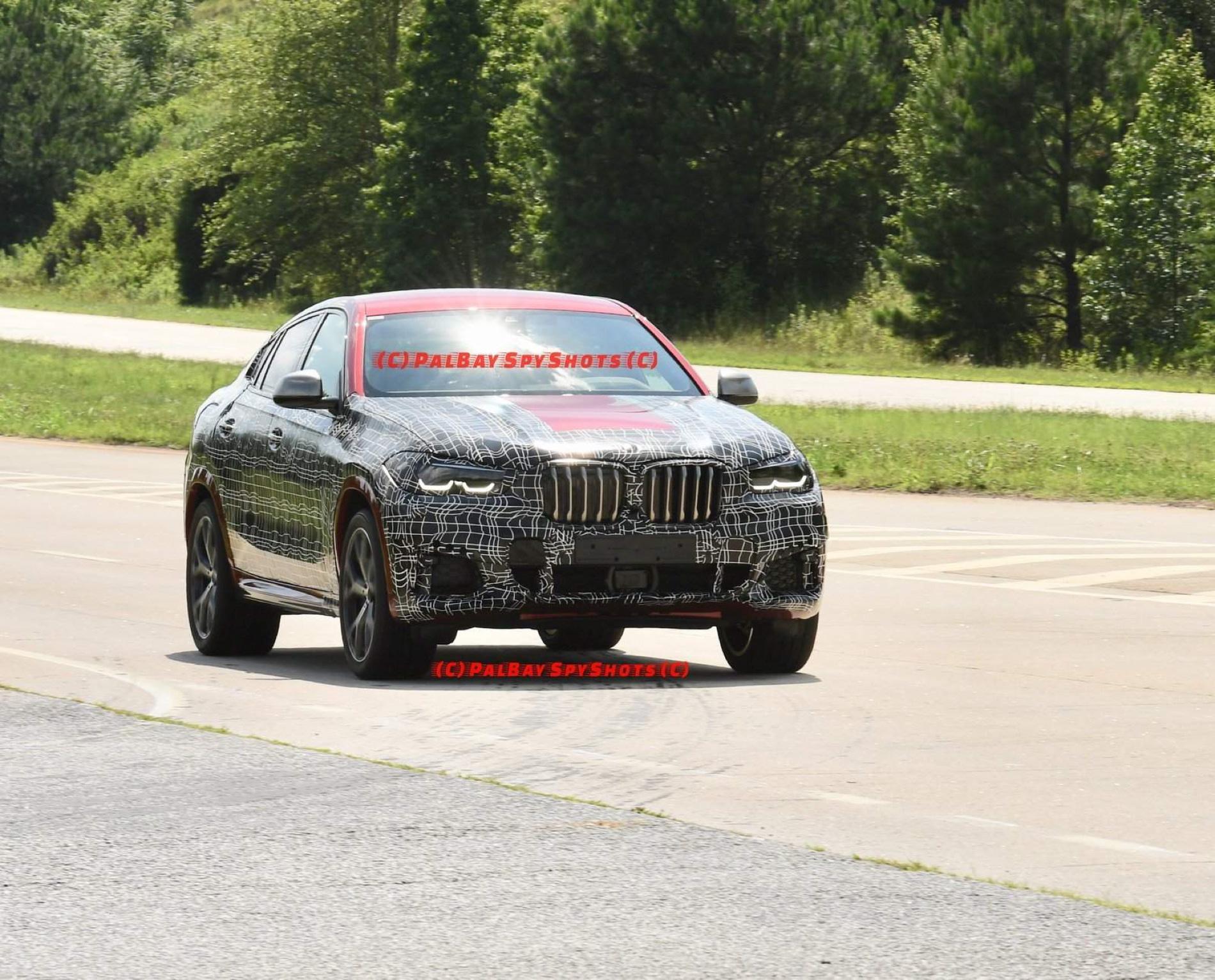 BMW G06 X6 spy shots 06