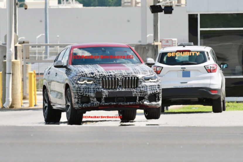 BMW G06 X6 spy shots 07 830x553