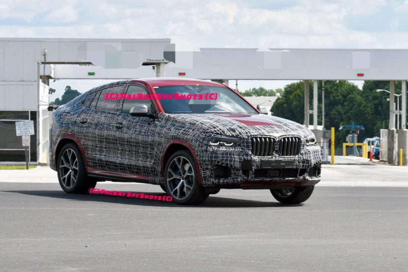 BMW G06 X6 spy shots 08 830x553
