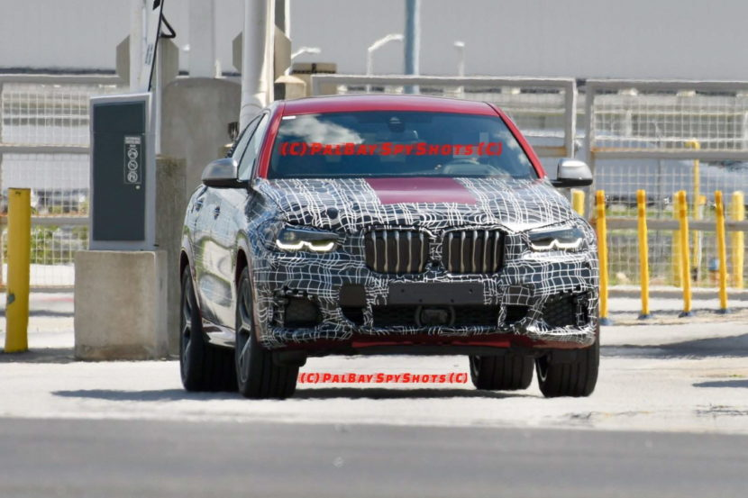 BMW G06 X6 spy shots 10 830x553