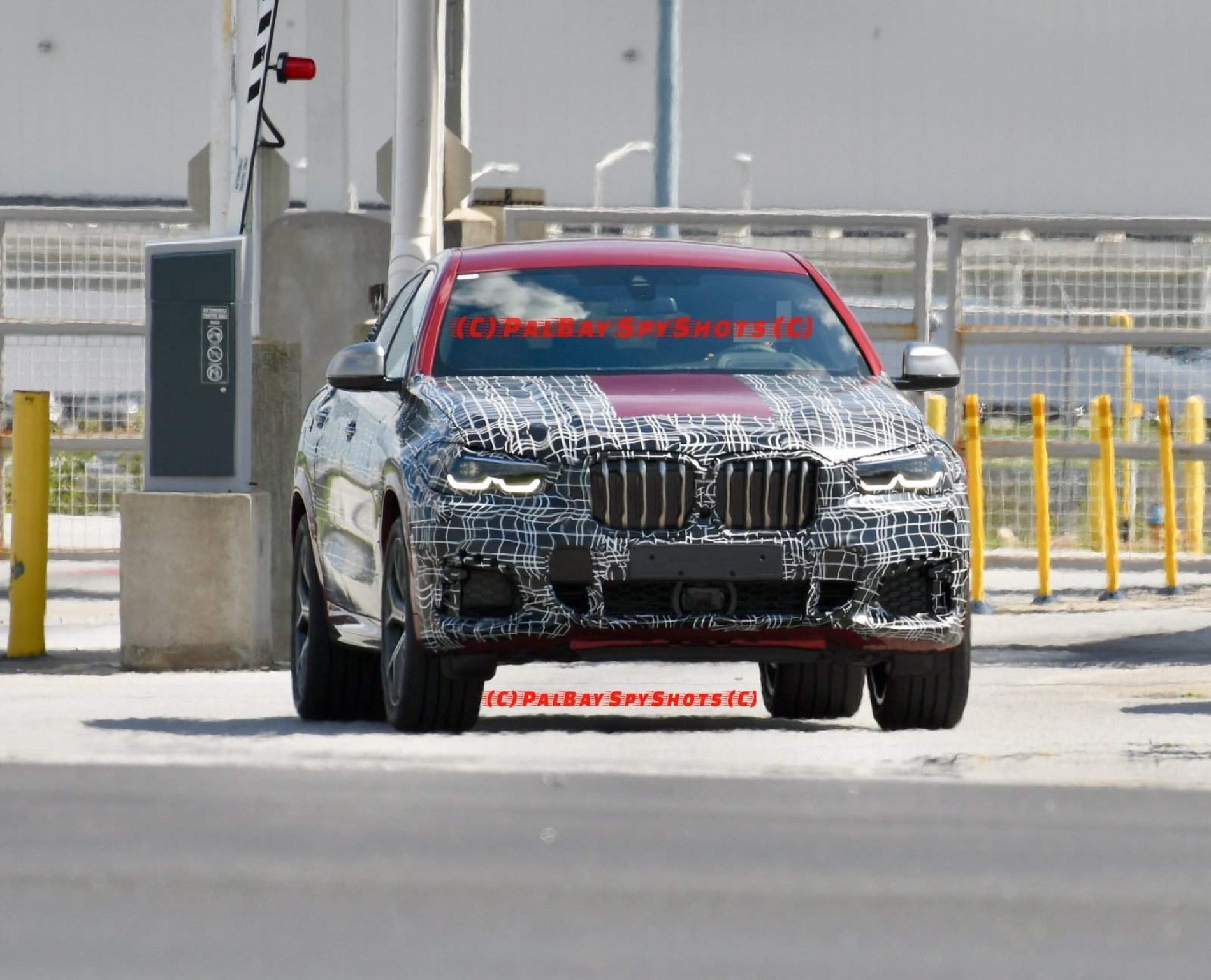 BMW G06 X6 spy shots 10