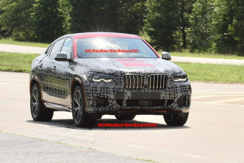 BMW G06 X6 spy shots 15 830x553