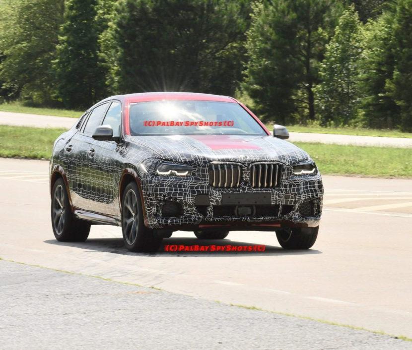 BMW G06 X6 spy shots 15 830x706