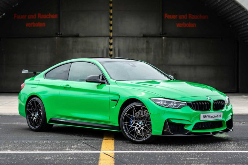 BMW Individual Signal Green M4 Competition 01 830x553