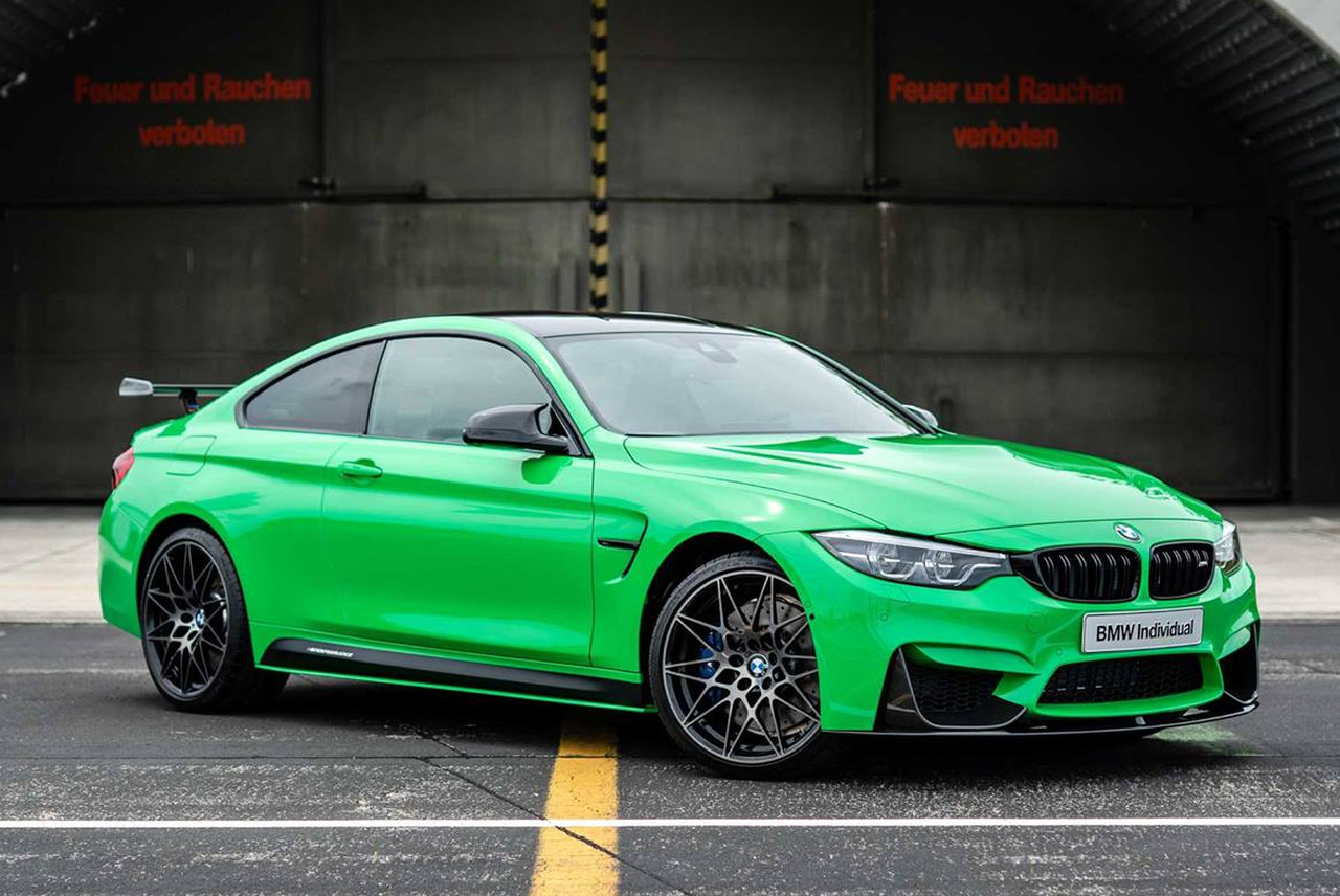 BMW Individual Signal Green M4 Competition 01