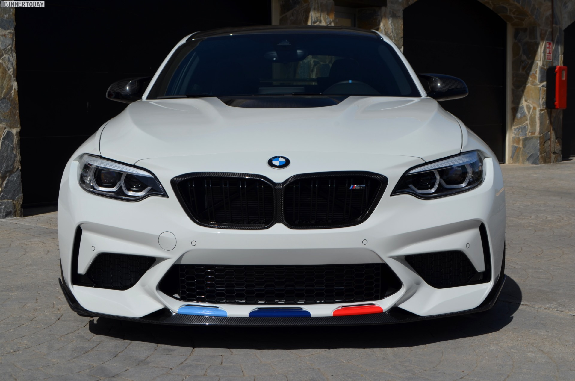 bmw m2 competition with m performance parts live photos. Black Bedroom Furniture Sets. Home Design Ideas