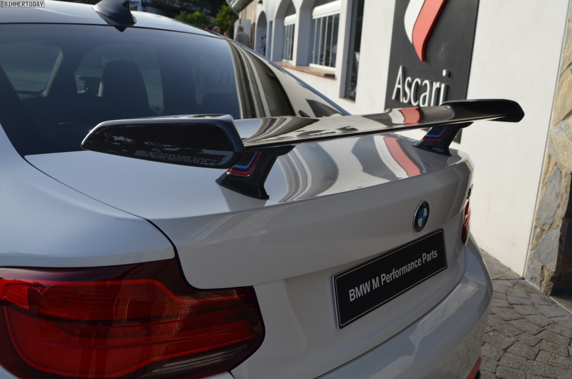 BMW M2 Competition with M Performance Parts: Live Photos