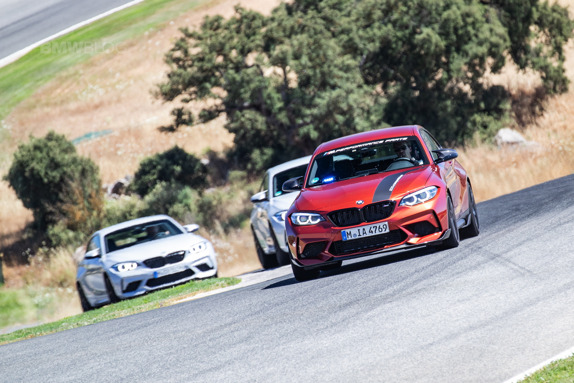 Bmw M2 Competition In Sunset Orange Photo Gallery