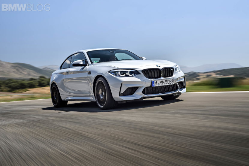 BMW M2 Competition test drive review 106 830x553
