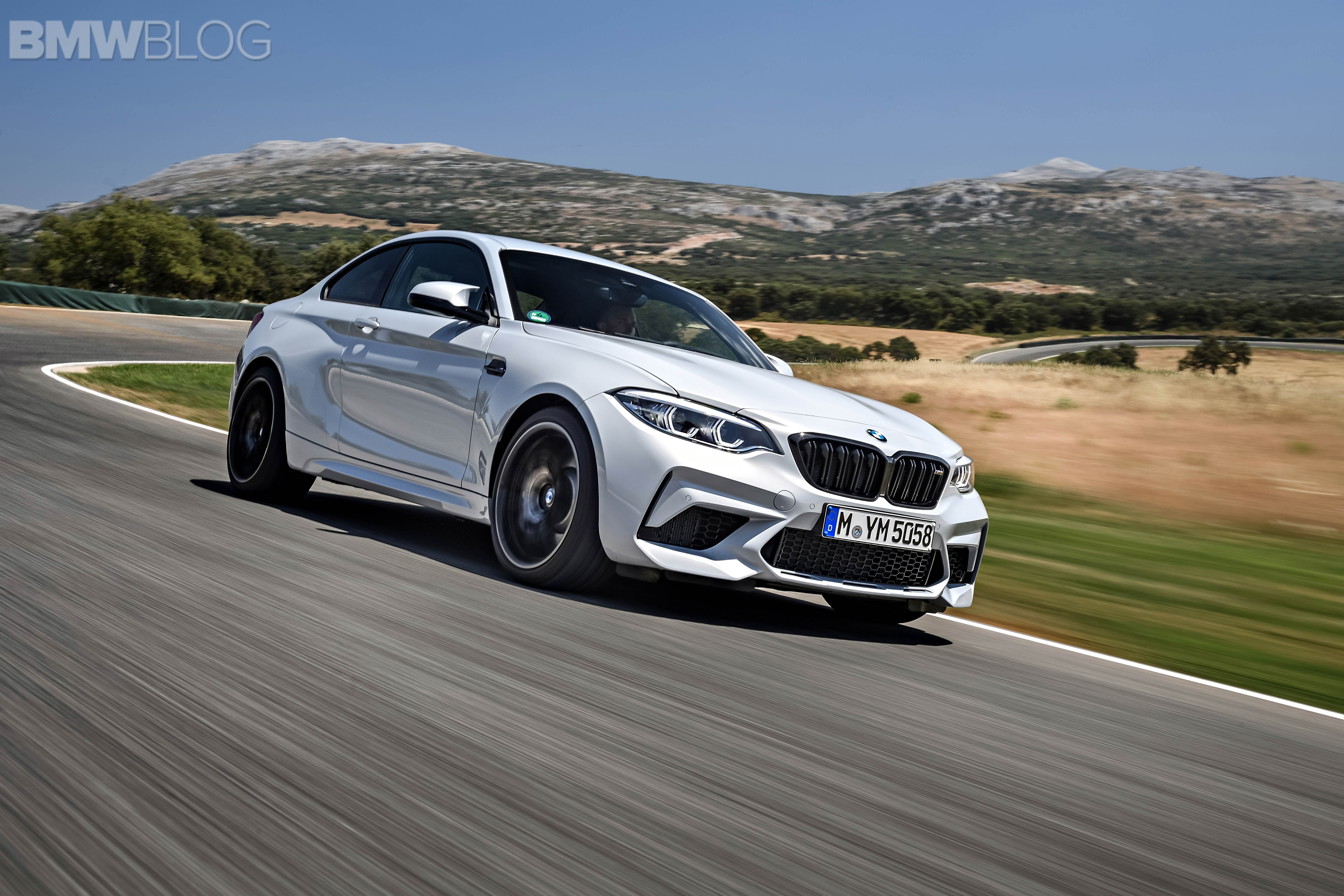 BMW M2 Competition test drive review 107