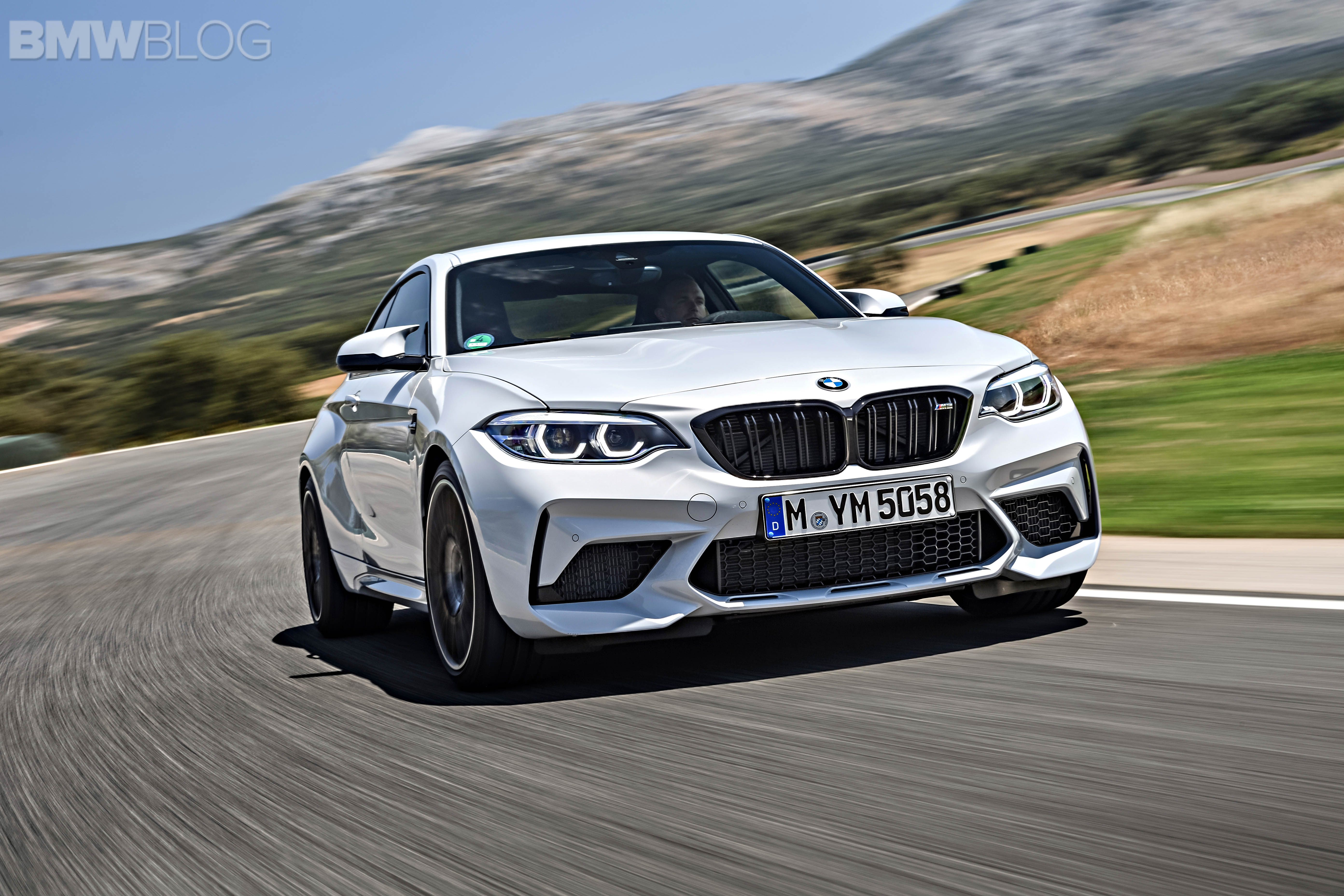 BMW M2 Competition test drive review 109