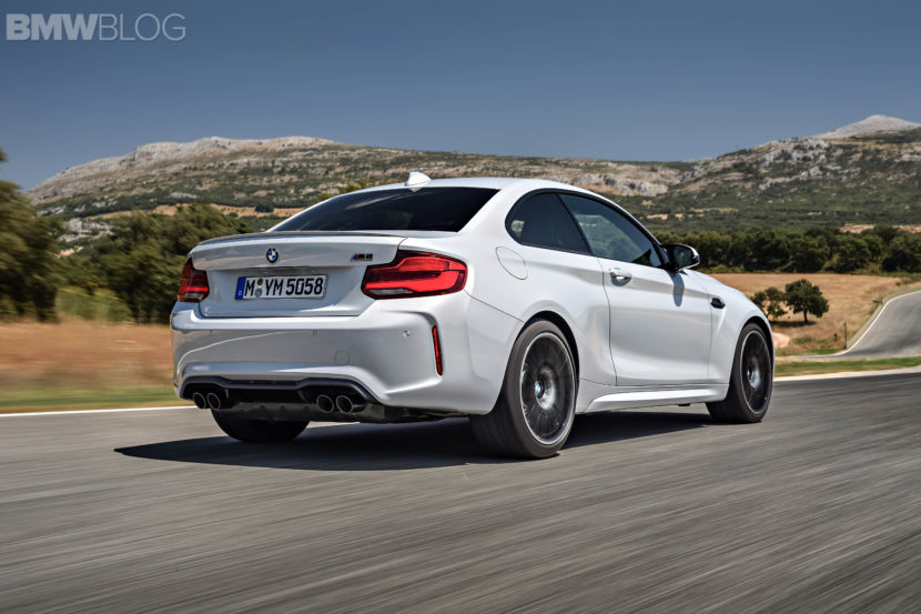 BMW M2 Competition test drive review 116 830x553