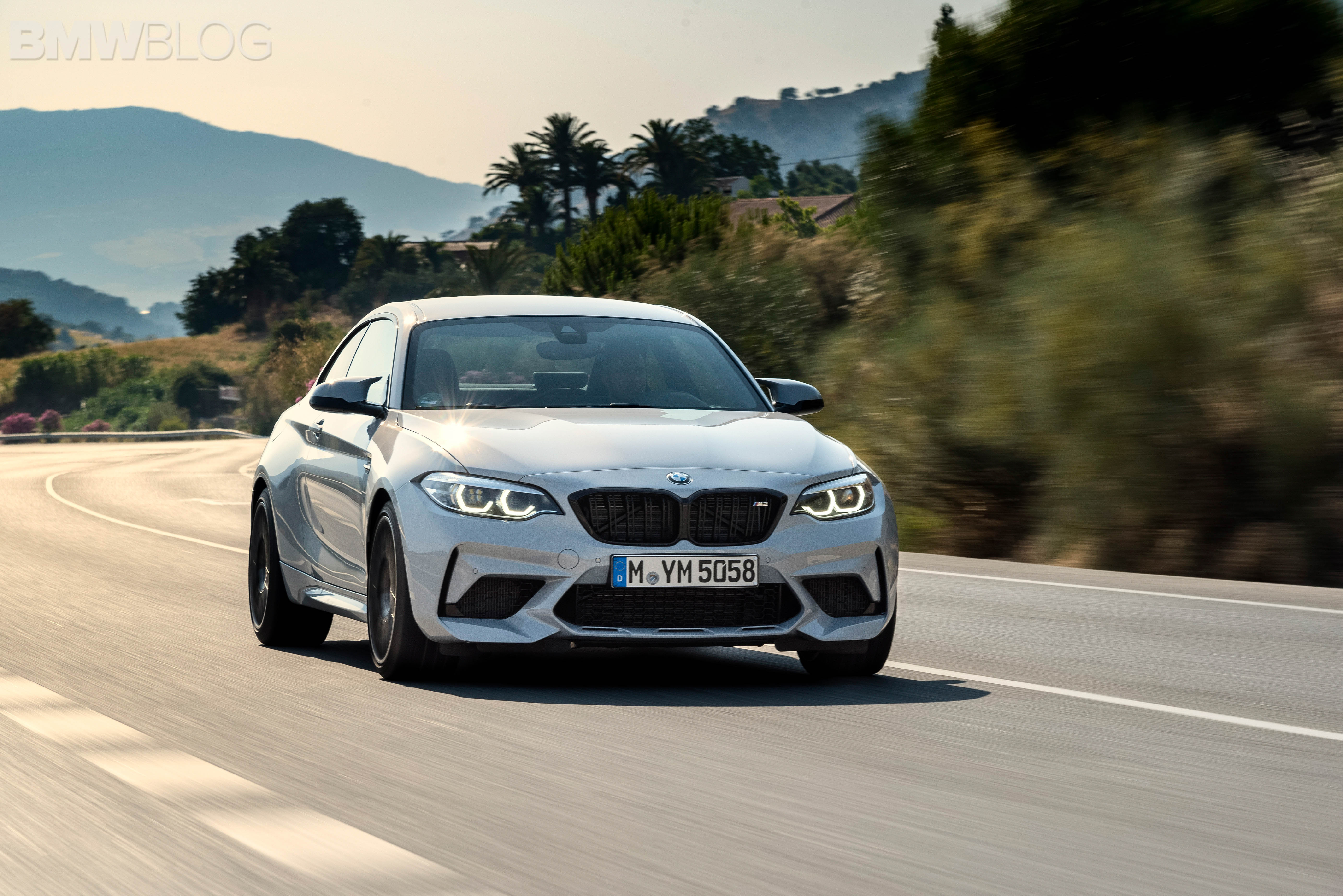 BMW M2 Competition test drive review 53