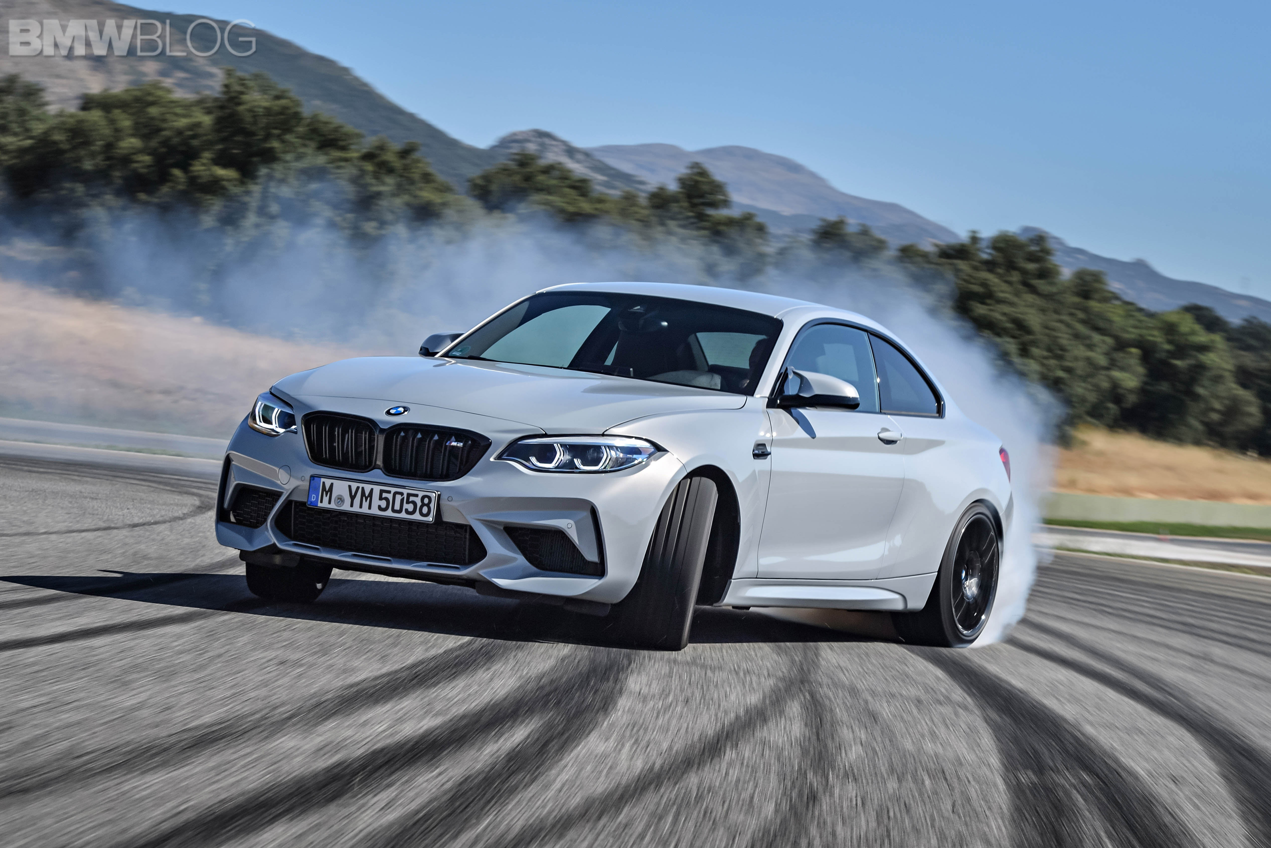 BMW M2 Competition test drive review 61