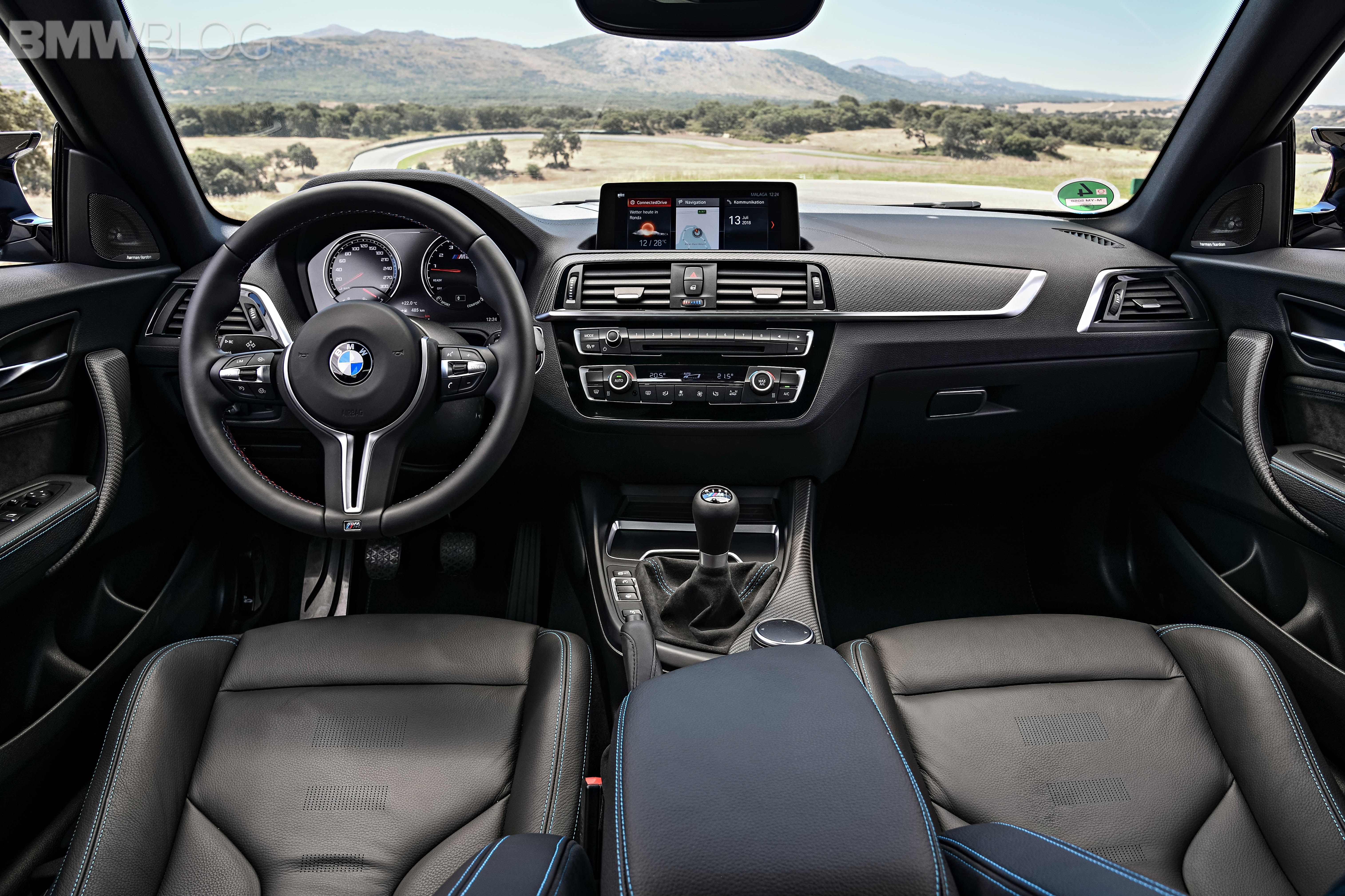 BMW M2 Competition test drive review 88