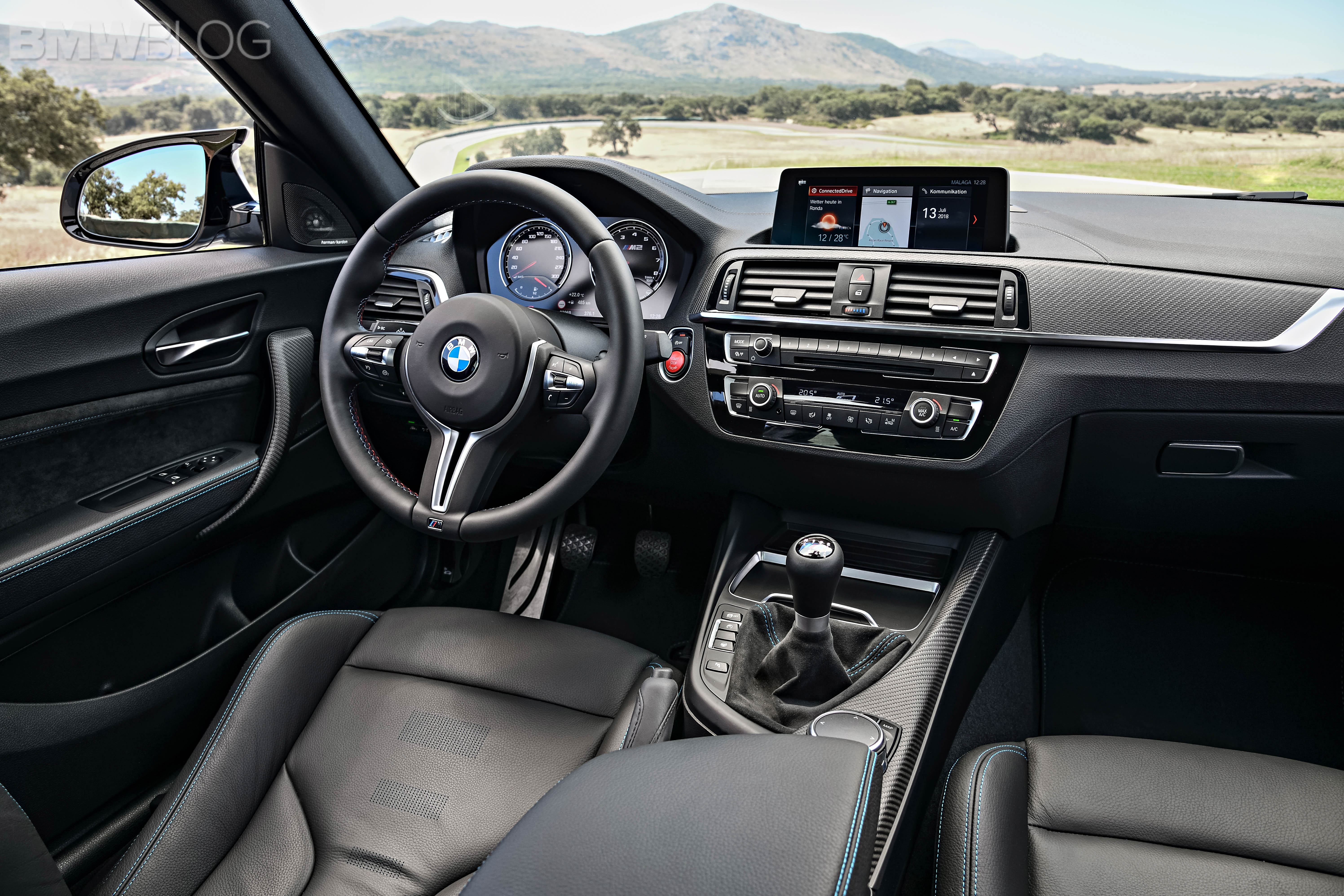BMW M2 Competition test drive review 90