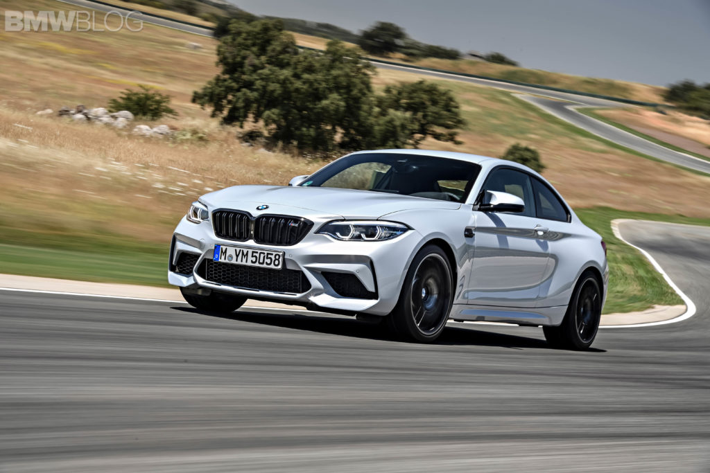 SPIED: More Images of the BMW M2 CS up close