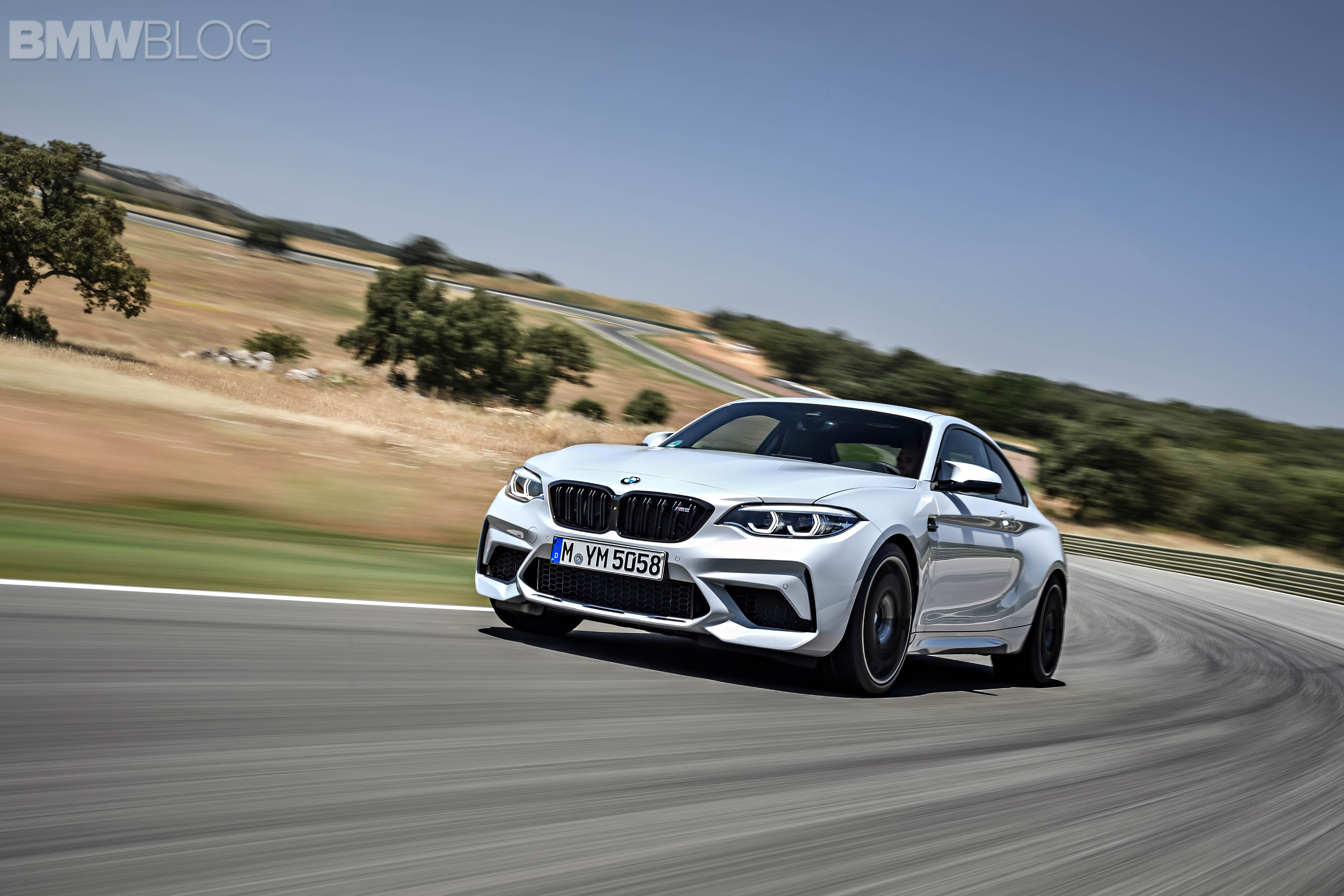BMW M2 Competition test drive review 98