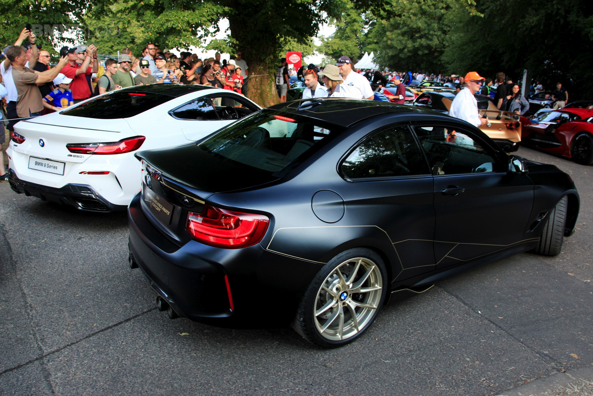 stunning photos of the bmw m2 m performance parts concept. Black Bedroom Furniture Sets. Home Design Ideas