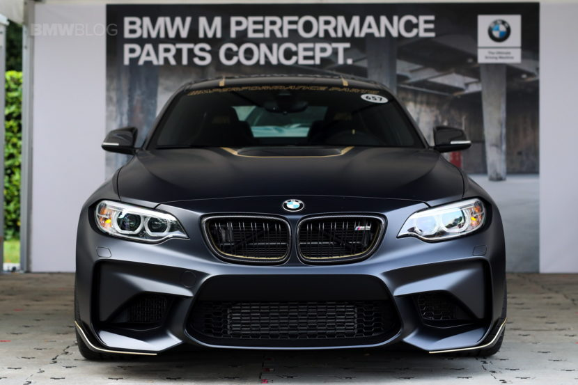 BMW M2 M Performance Parts Concept 2018 10 830x553