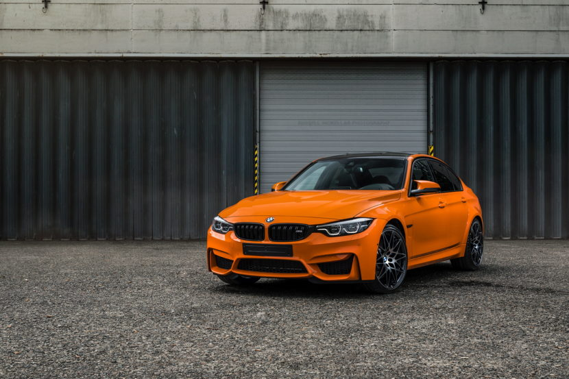 One Of A Kind Bmw M3 Manufactur Edition In Fire Orange Ii Drive