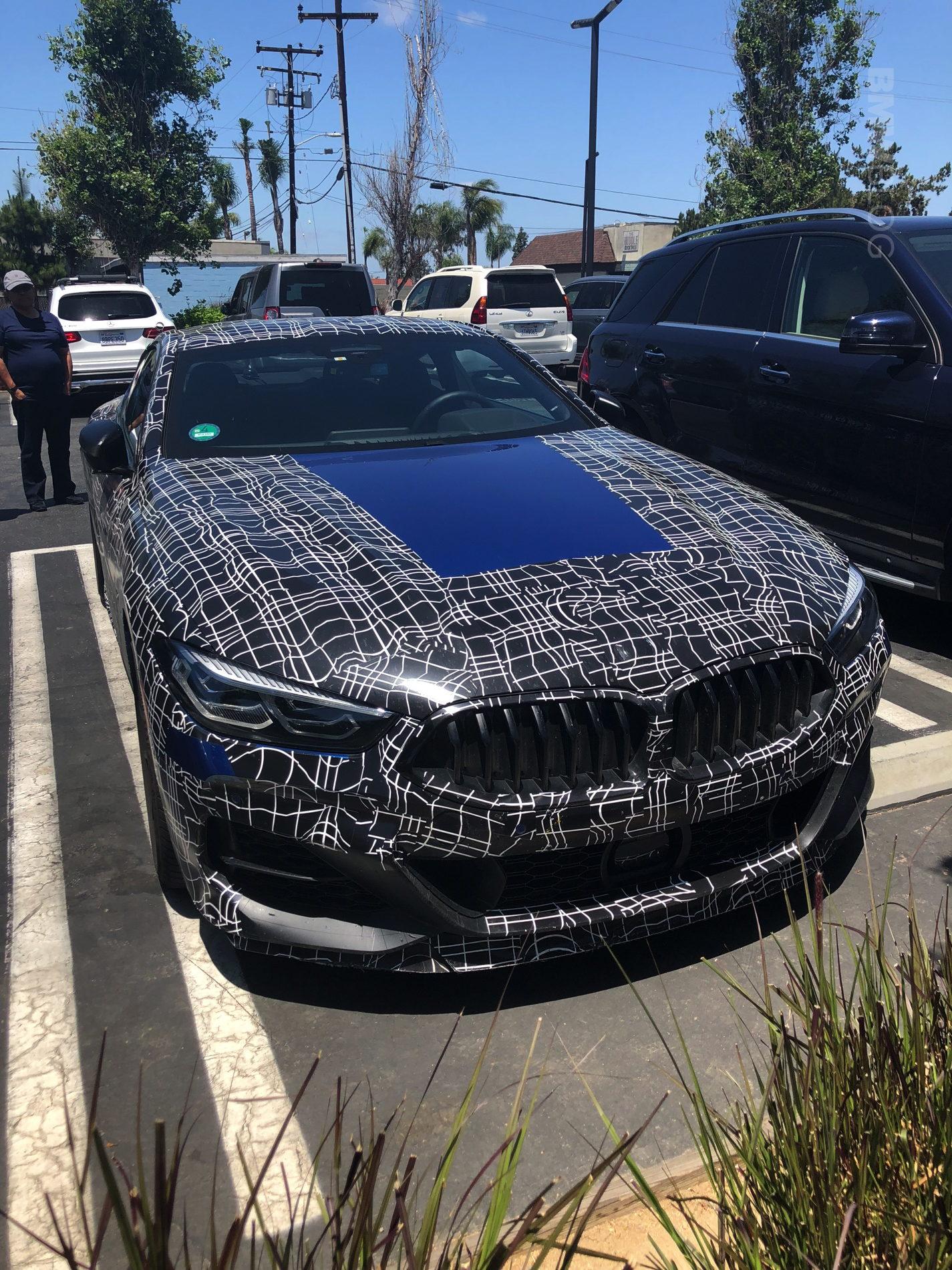 BMW M8 Coupe spy photos 02 e1531169288688