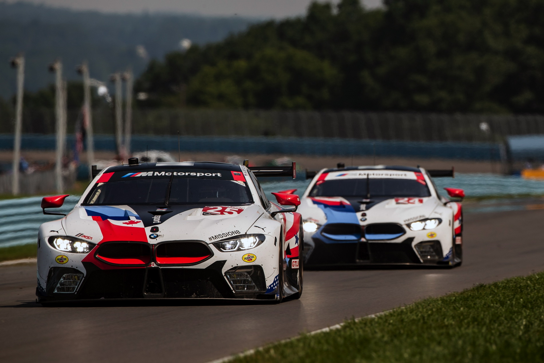 bmw m8 gte finishes 7th and 8th in the sahlen s six hours. Black Bedroom Furniture Sets. Home Design Ideas