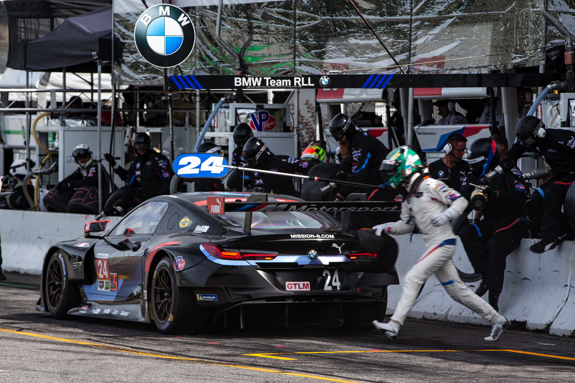 bmw m8 gte finishes 7th and 8th at lime rock. Black Bedroom Furniture Sets. Home Design Ideas