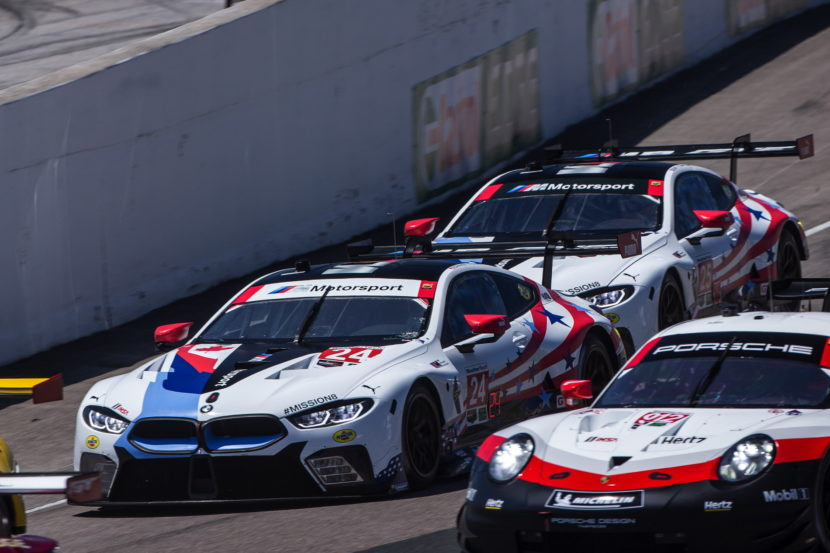 bmw m8 gte finishes 7th and 8th at mobil 1 sportscar grand prix. Black Bedroom Furniture Sets. Home Design Ideas