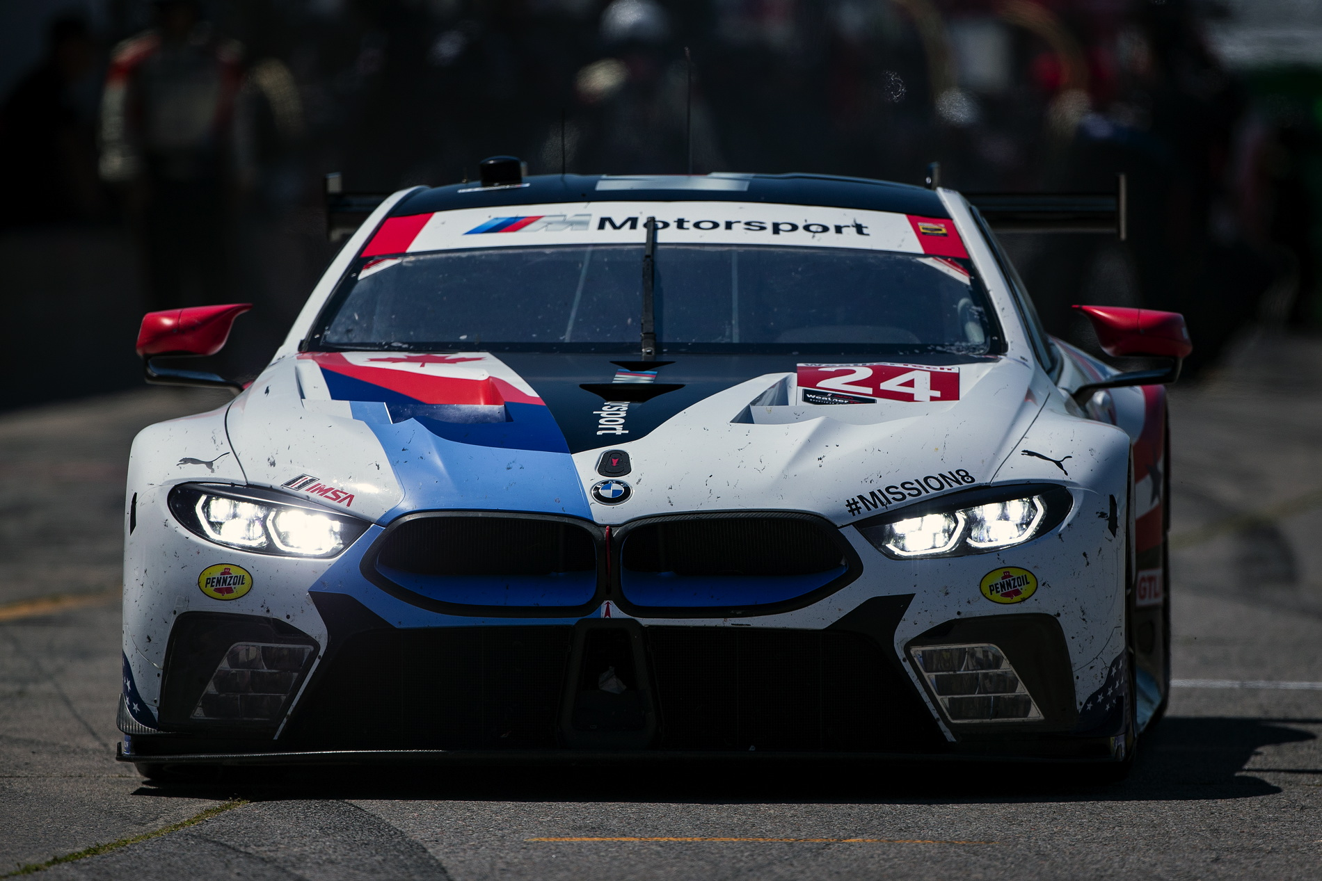 bmw m8 gte finishes 7th and 8th at mobil 1 sportscar grand prix bmw blog howldb. Black Bedroom Furniture Sets. Home Design Ideas
