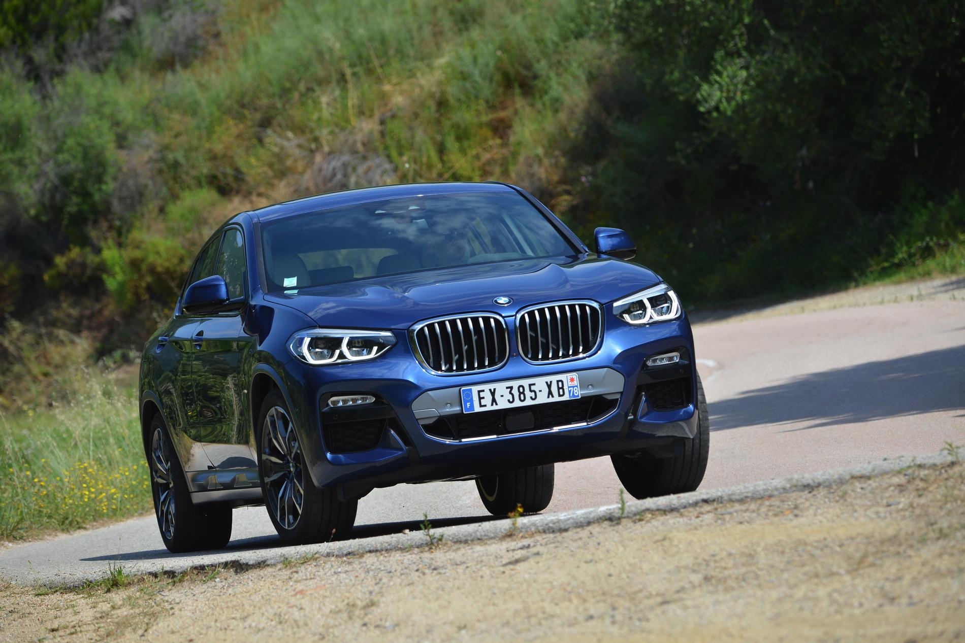 BMW X4 Phytonic Blue 54