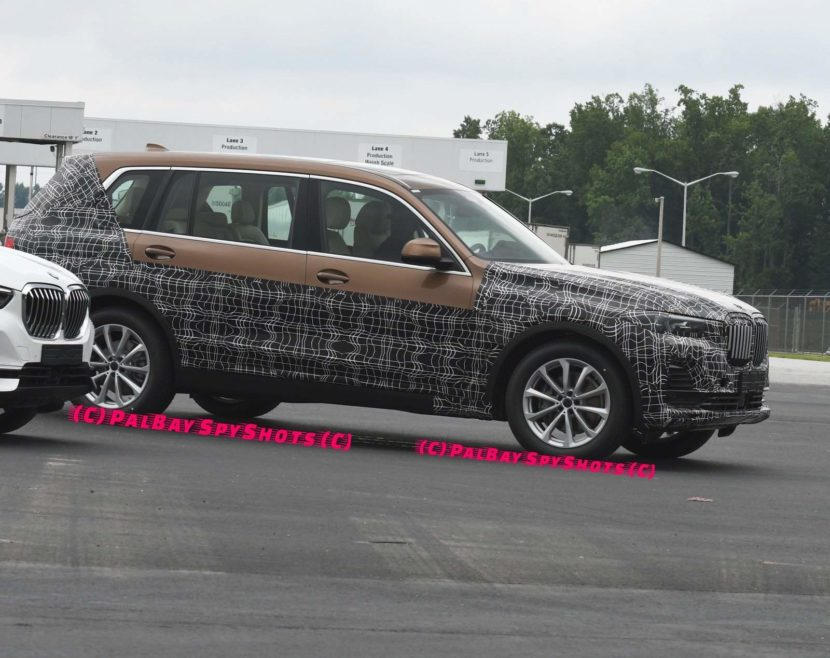 BMW X7 spied Spartanburg 830x658