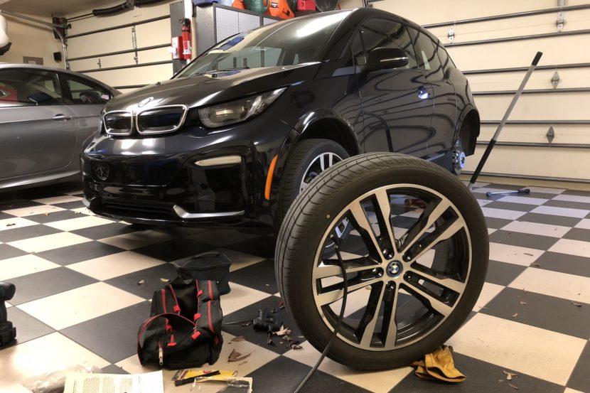 BMW i3 flat tire fix 10 830x553
