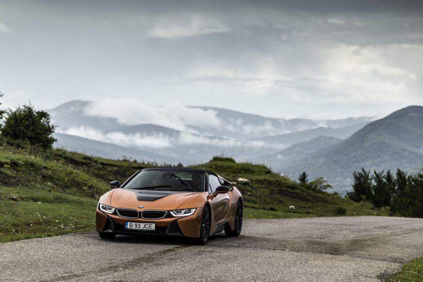 BMW i8 Roadster Sinaia 1 830x553