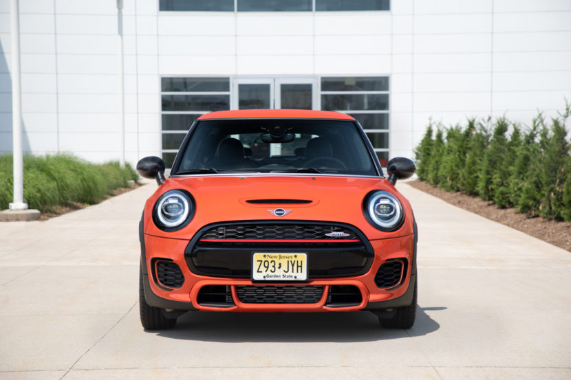 MINI JCW John Cooper Works International Orange Edition 6 1 830x553