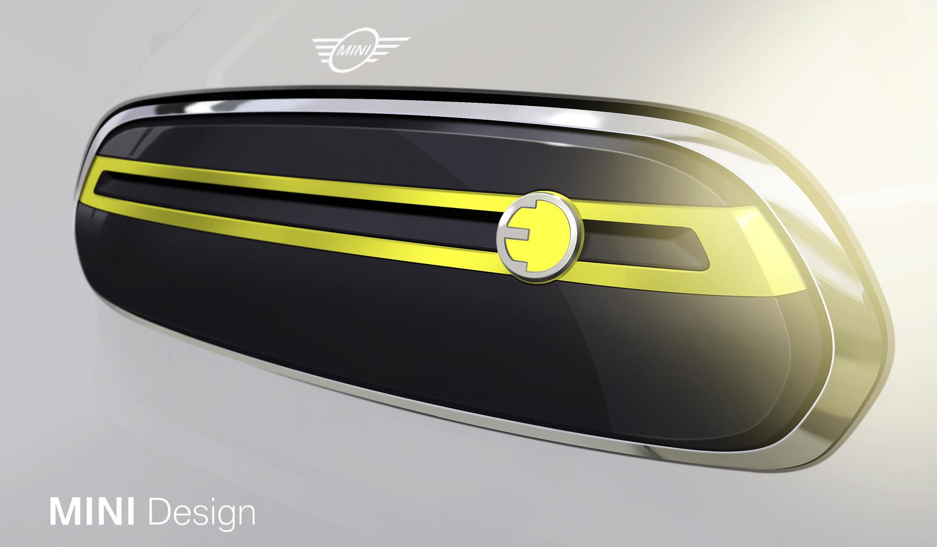 MINI electric car design sketches 01