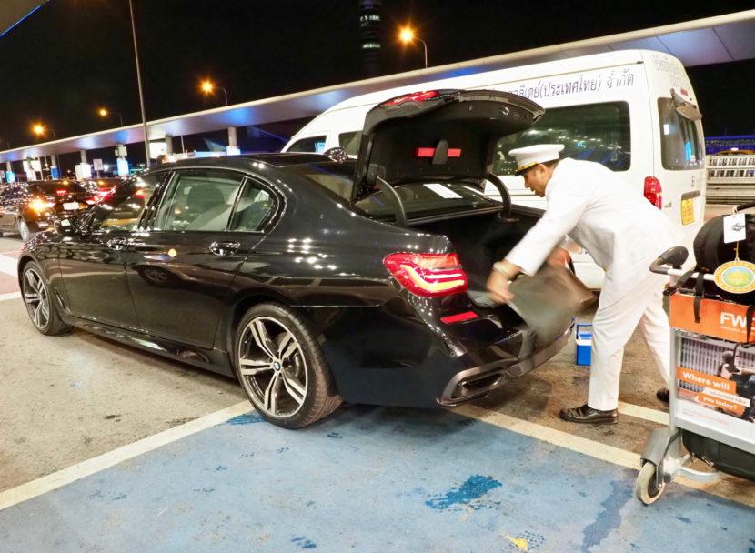 Mandarin Oriental Bangkok BMW 7 Series 06 830x608