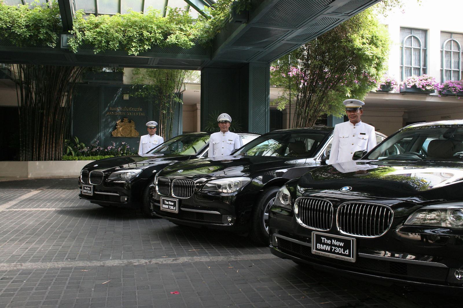 bangkok 5 star hotel limousine service