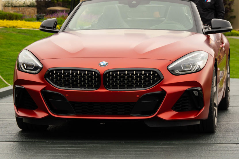 2019 bmw z4 roadster premiere pebble 2 830x553