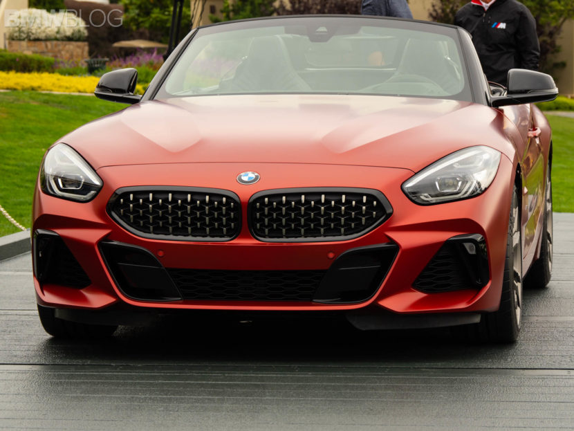 2019 bmw z4 roadster premiere pebble 2 830x623