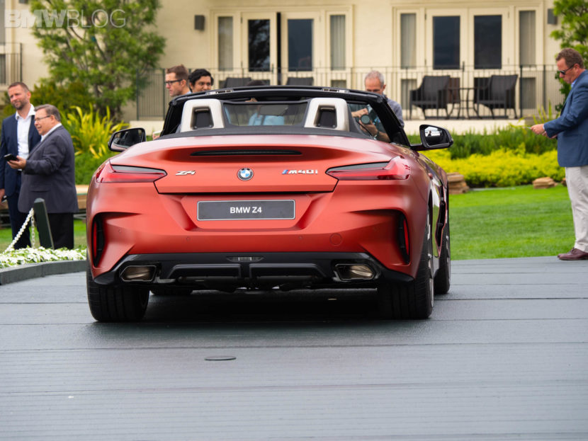 Live Photos 2019 Bmw Z4 M40i At Pebble Beach