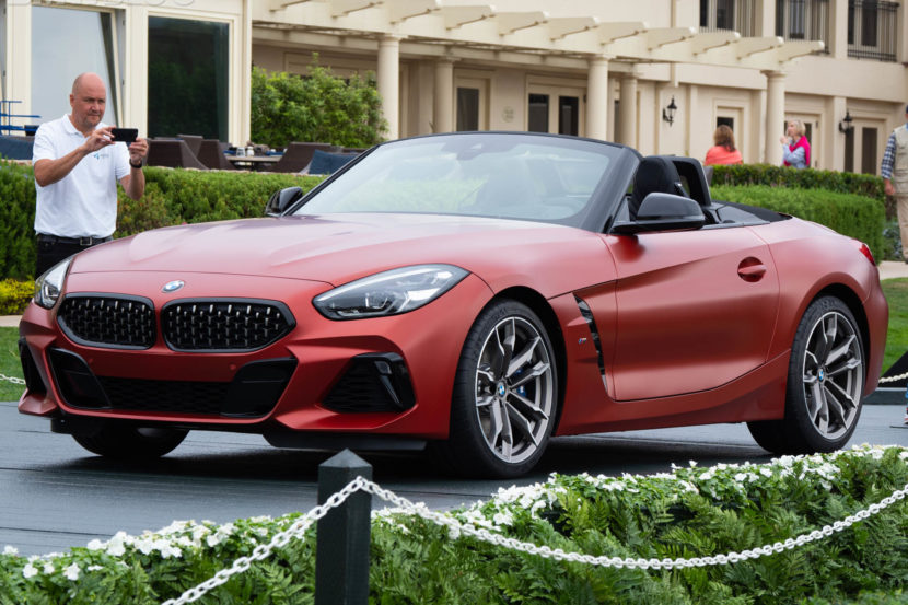 2019 bmw z4 roadster premiere pebble 5 830x553