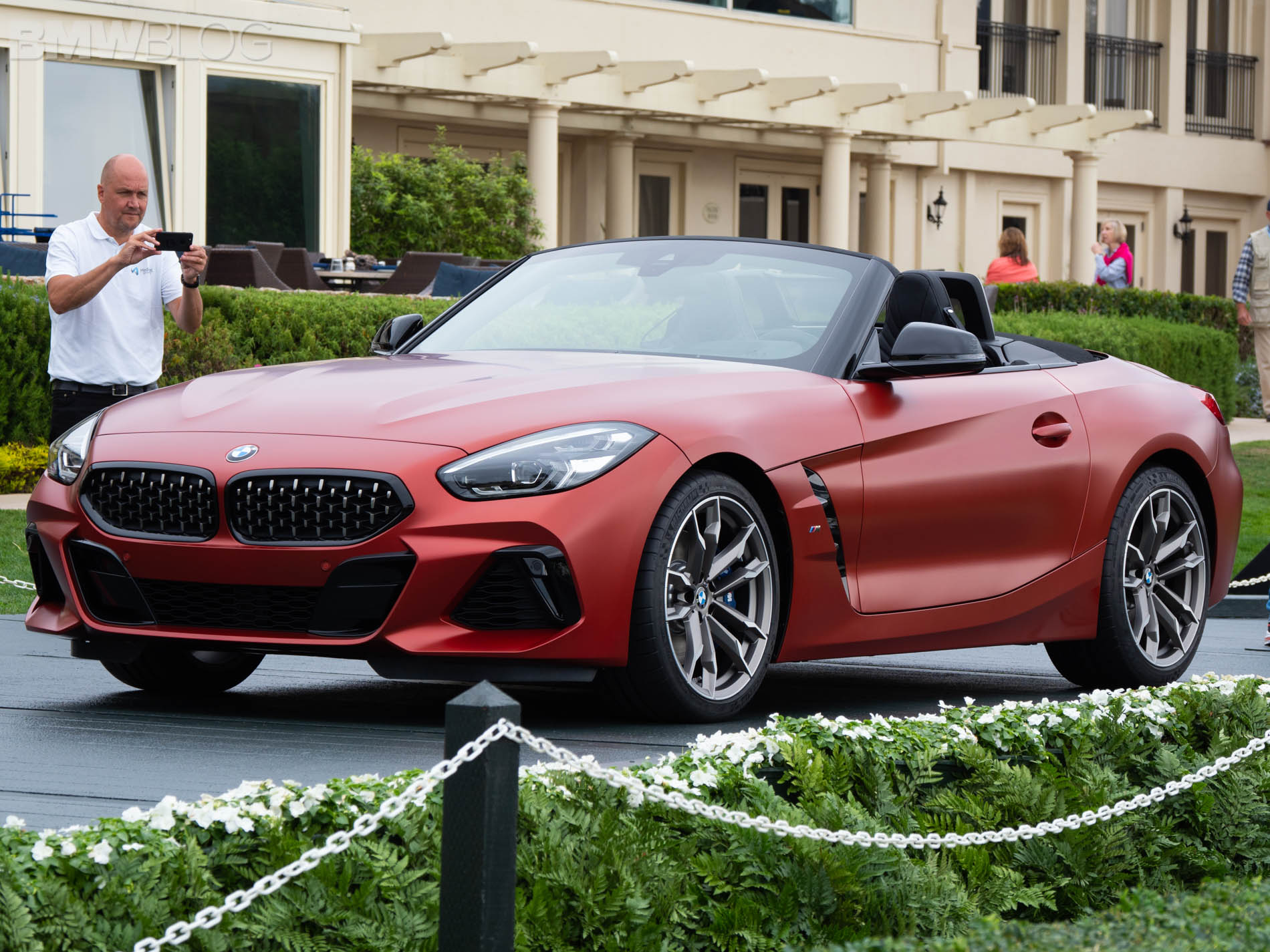 Bmw Z4 Designer Explains New Grille Design Reminiscent Of