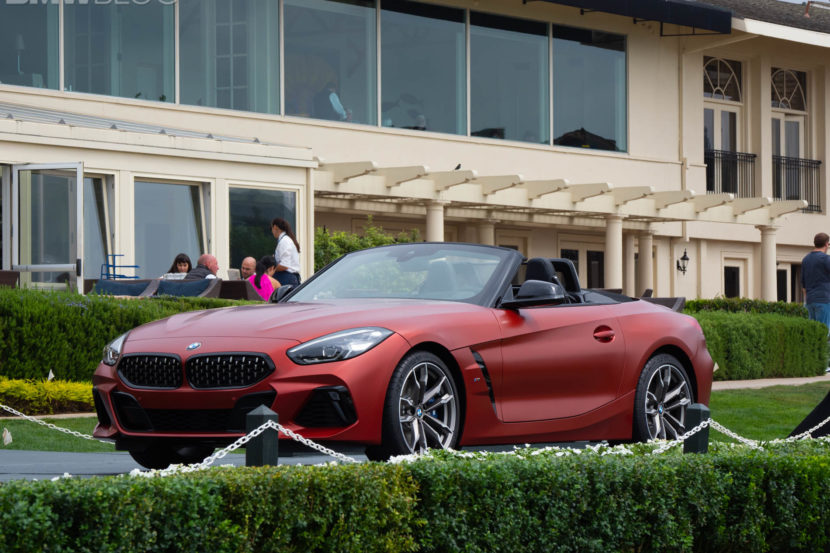 2019 bmw z4 roadster premiere pebble 51 830x553